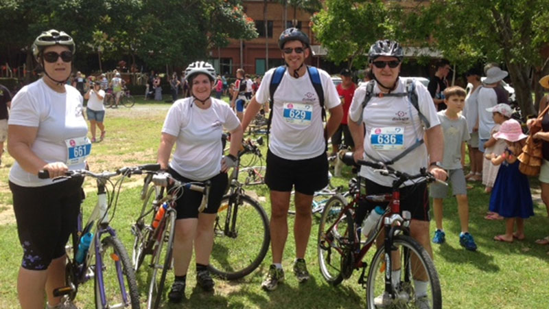 Cycle of Giving Prince Charles Hospital Foundation
